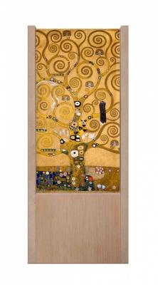Lampada da tavolo in legno Gustav Klimt _ l'albero della vita