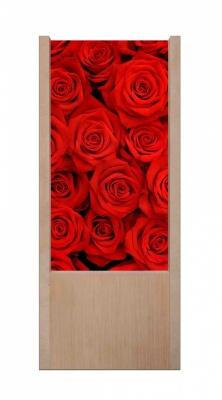 Lampada da tavolo in legno Rose