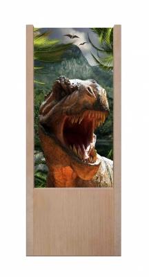 Lampada da tavolo in legno Tirannosauro rex