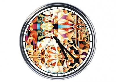 Orologio da parete in acciaio  Guernica (colore) Picasso