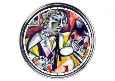 Orologio da parete in acciaio Pablo Picasso