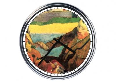 Orologio da parete in acciaio Vincent Van Gogh