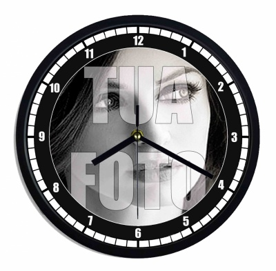 Orologio da parete in plastica personalizzato